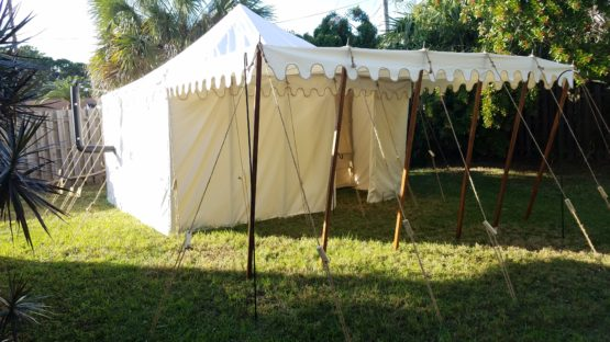 Square Marquee With Awning