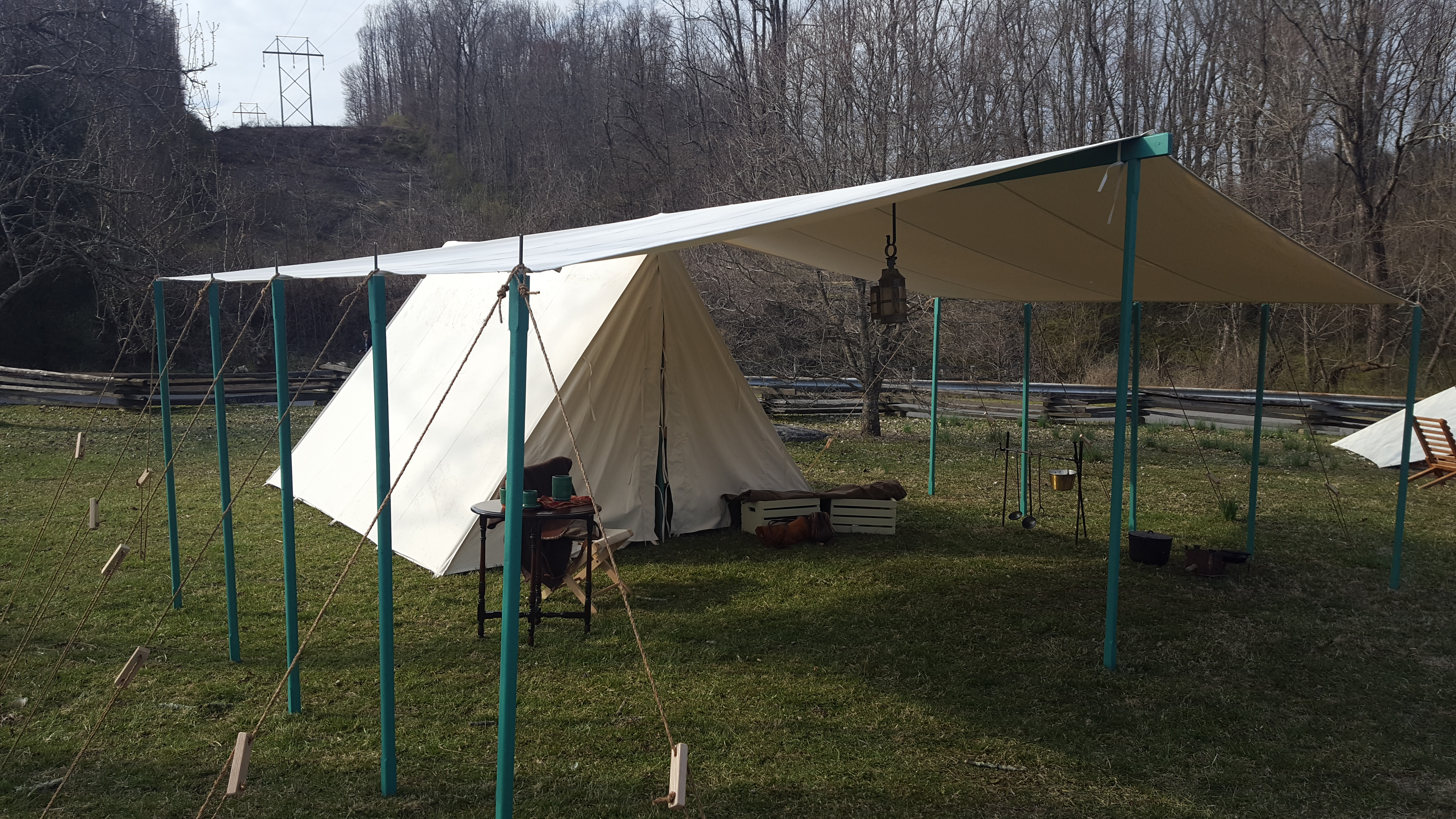 Awnings for Wall/Wedge Tents - Tentsmiths