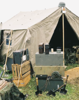 German Staff Tent