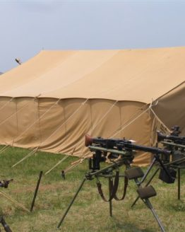 German troop tent