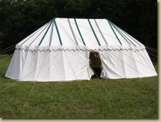 Round End Marquee Tent