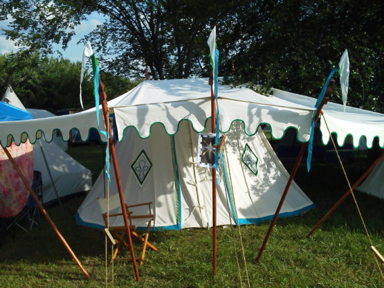 Medieval Wedge Tent