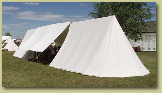 Museum Tent with Awning