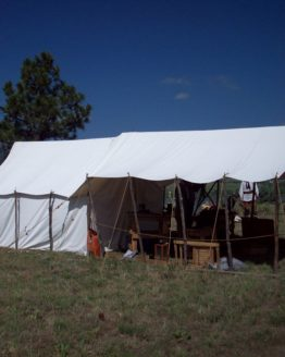 Wall tent with Awning