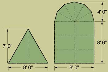 1750 Wedge Tent