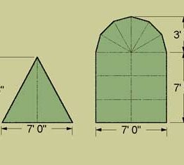 1751 Wedge Tent