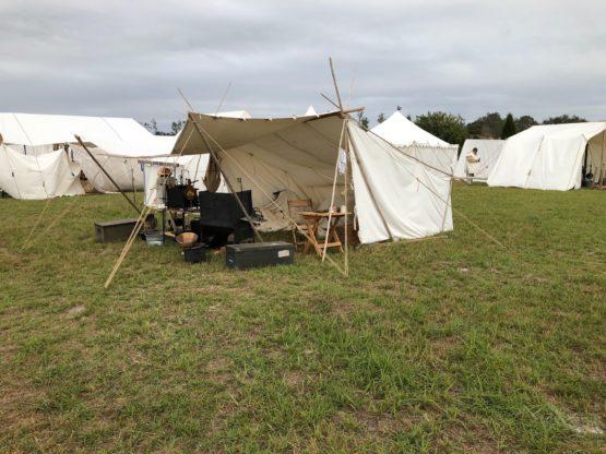 baker style historic tent