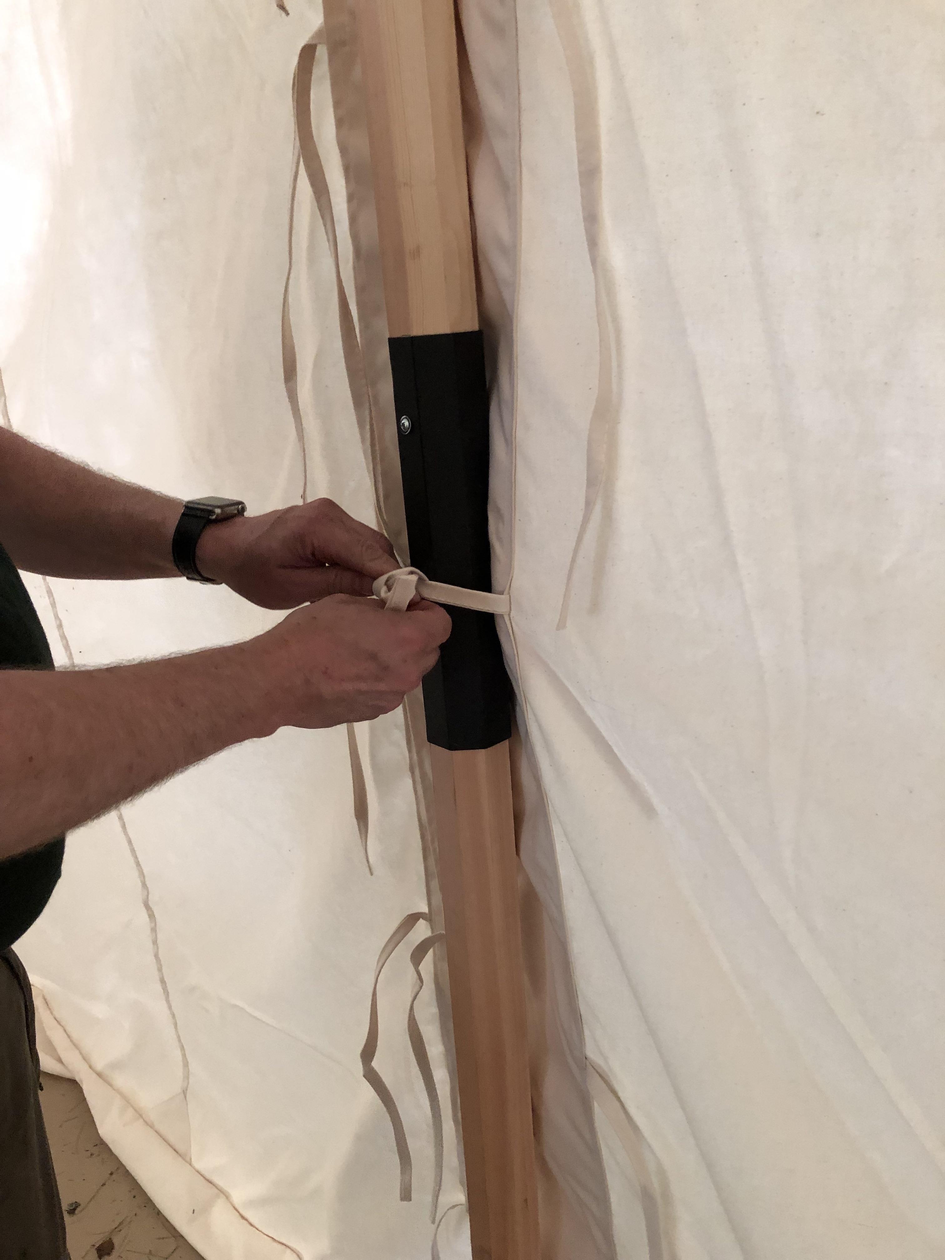 Sleeved Pole
