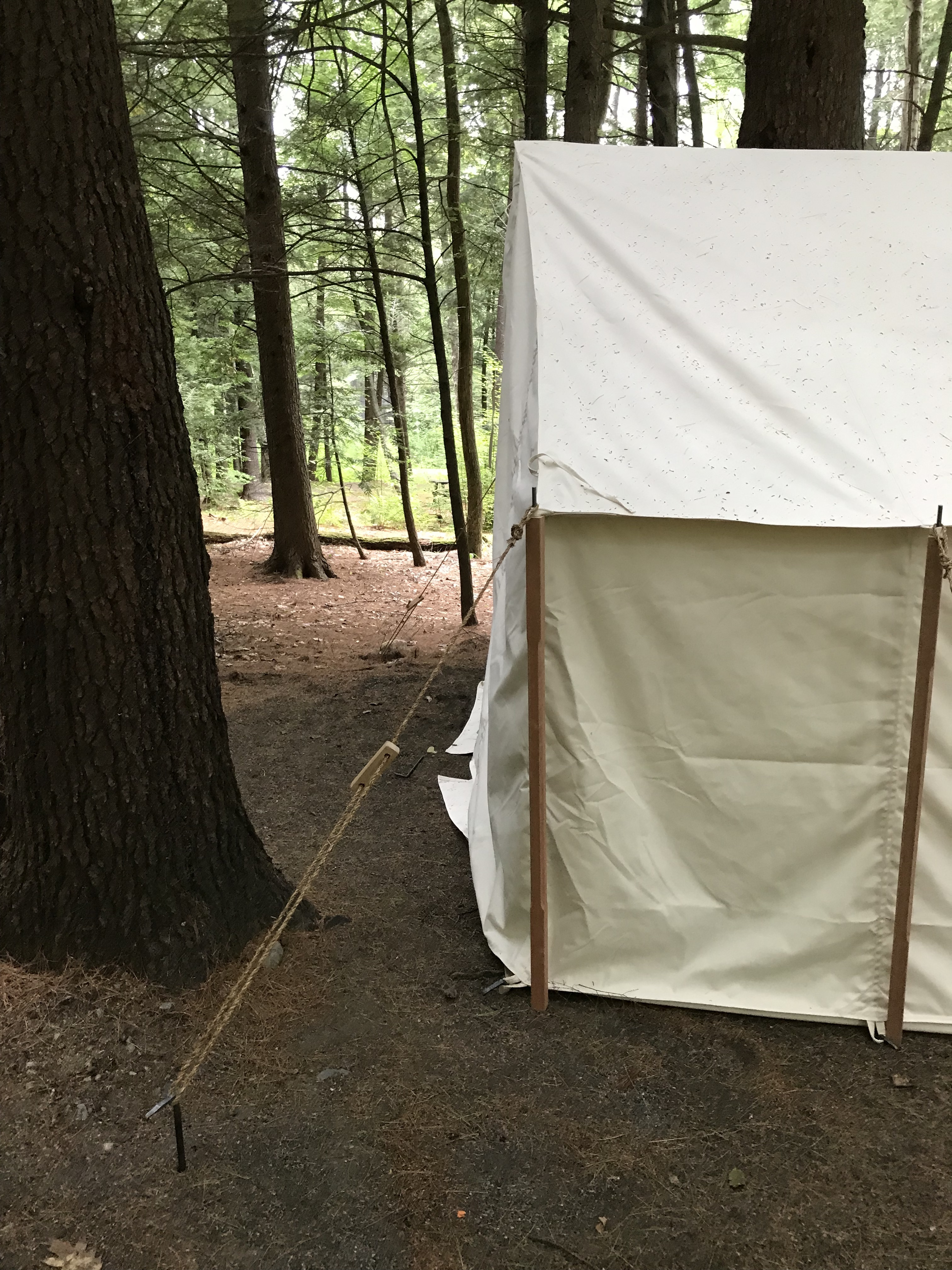 Generic U S Wwii Wall Tent Tentsmiths