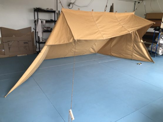 Whelen tent set up
